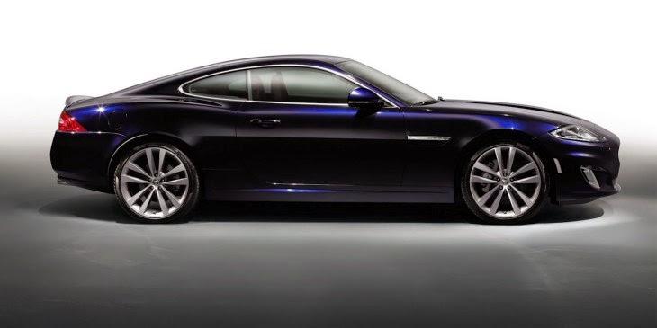 Jaguar XE side view