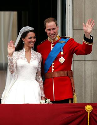 Foto Pernikahan William dan Kate