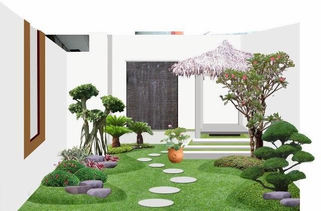Desain Taman Rumah Minimalis Gaya Modern