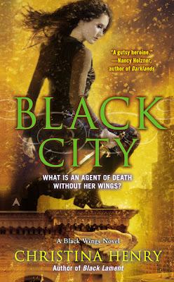 Cover Love – Black City by Christina Henry