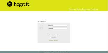 Plataforma Testes Psicológicos Online