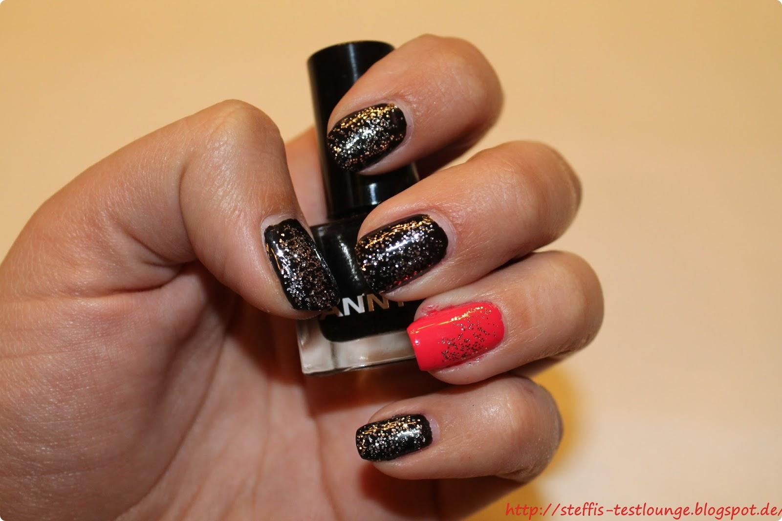 Silvester Nails einfaches NY Nageldesign  - silvester nageldesign