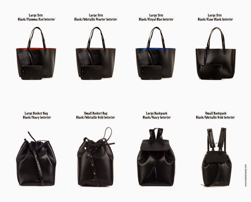 In stock Mansur Gavriel totes, Mansur Gavriel bucket bags, Mansur Gavriel backpacks by Find Me A Muse