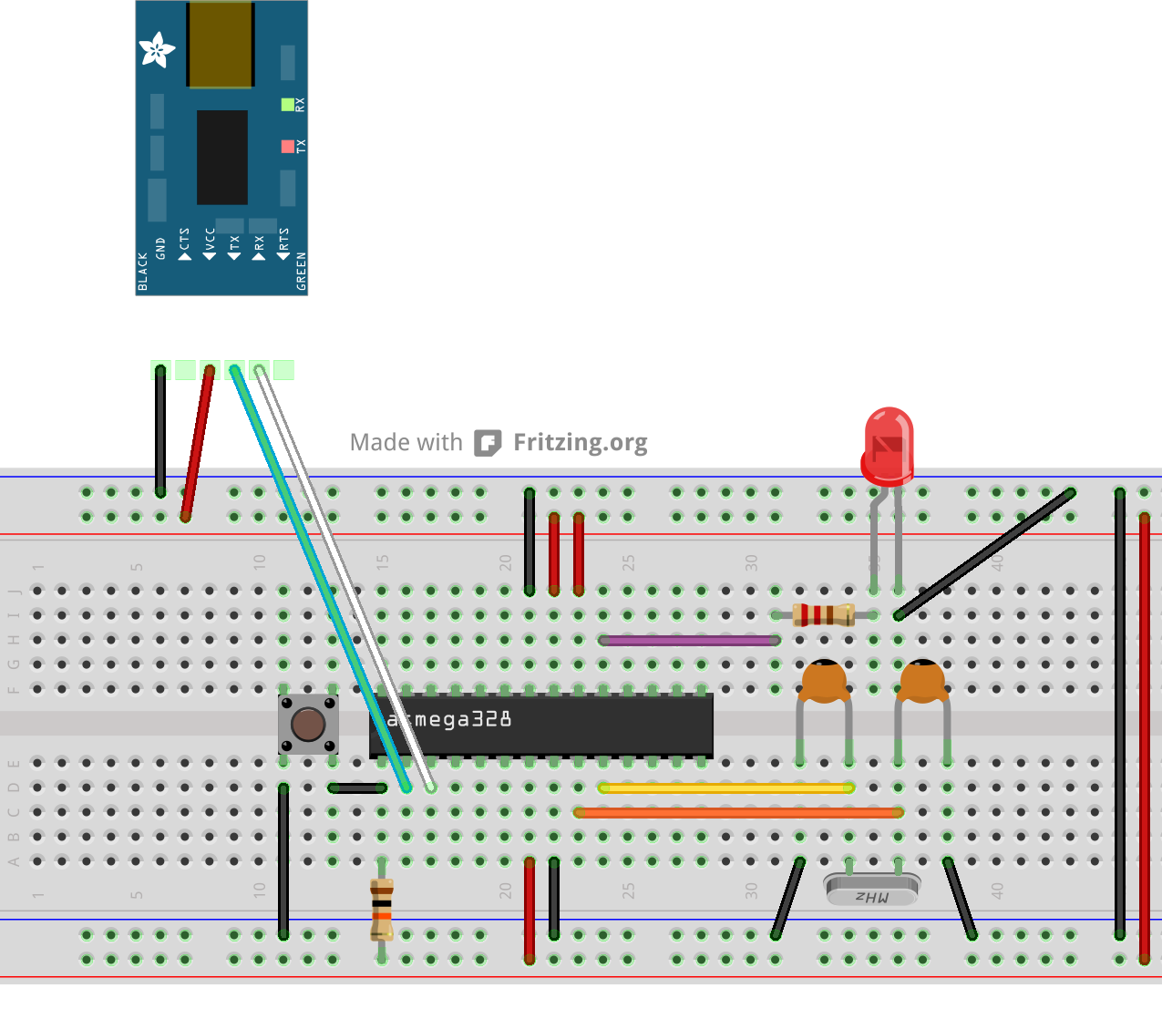 Blinky on Arduino Zero - Arduino Project Hub