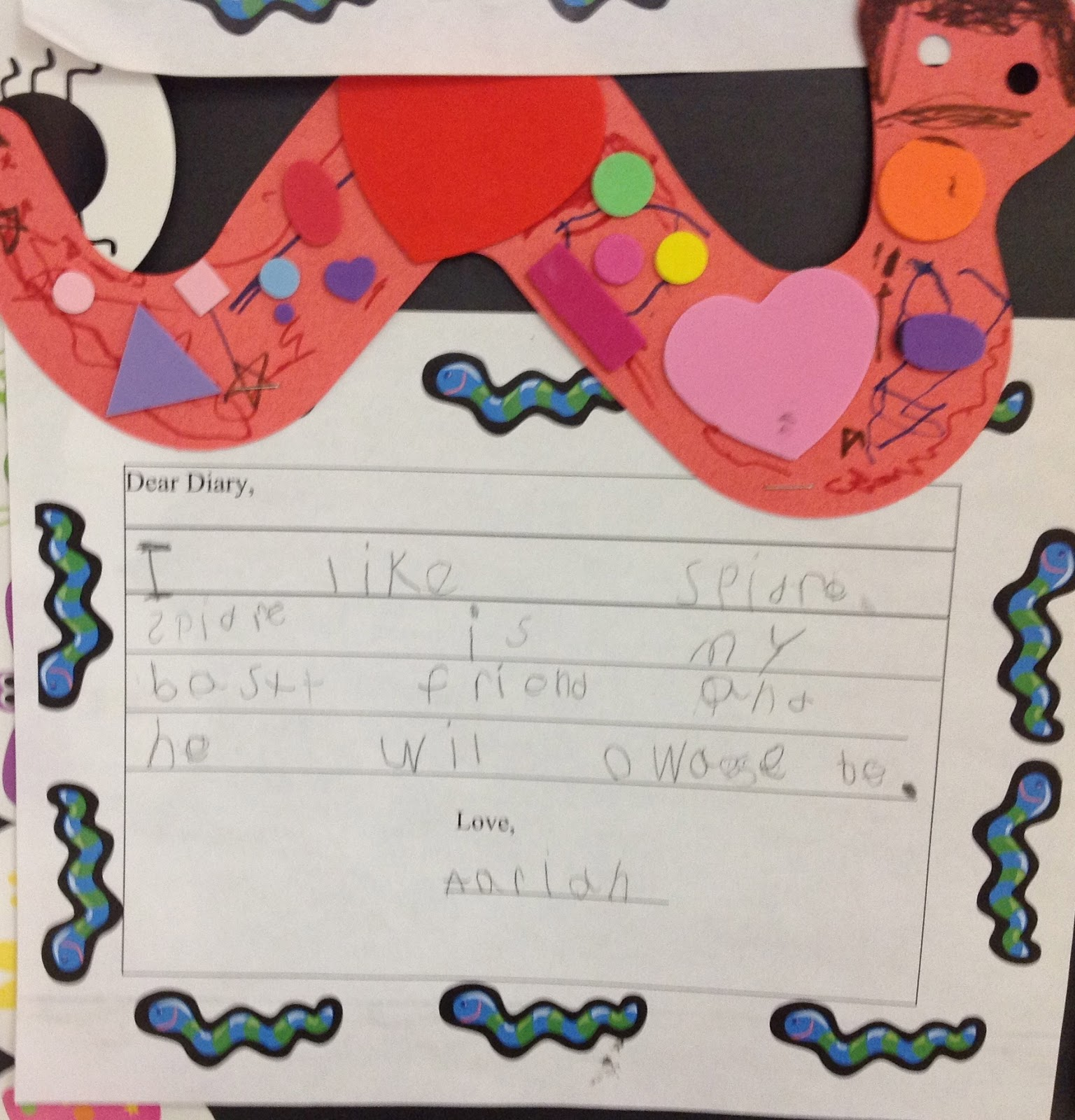 Diary Of A Worm: Two Whooo Love Kindergarten: Investigating Worms