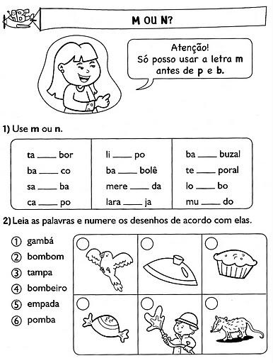 Ortografia    M Antes De P E B