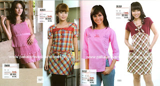 Model Pakaian Busana Cewek Wanita Sekarang