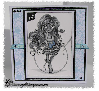 Card with Circus Triexie stamp
