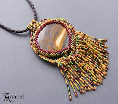 купить украшения с бисером яшмой бохо стиль украина натуральные камни