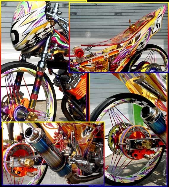 Gambar Motor Drag Keren