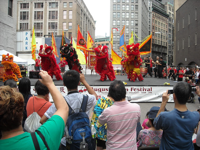 Chinese August Moon Festival, Chinatown, Boston 2012