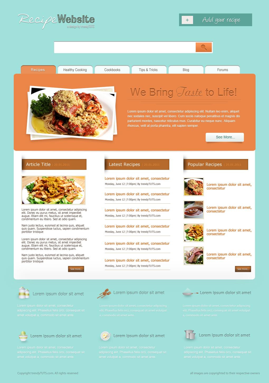 Web design tutorss march 2013 photoshop web design tutorials forumfinder Gallery