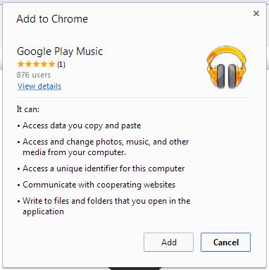 open google play music app