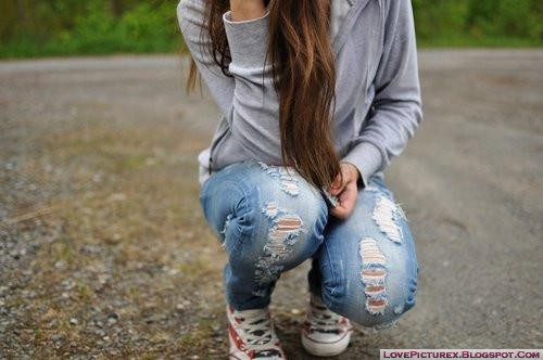 cute, girl, fashion, jeans, stylish, hot, beauty
