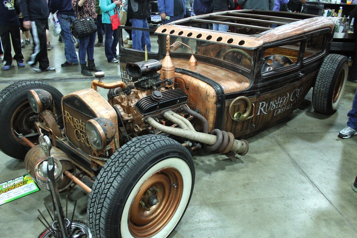 cars for sale: cool hot rod, the Rusted Crow Distillery rat rod by ...