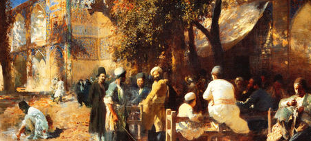 A Persian Cafe, Edward Lord Weeks