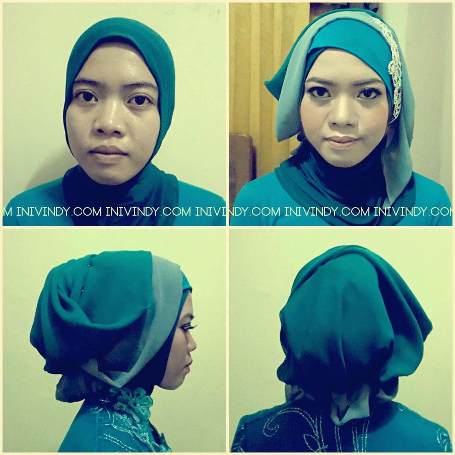 Ini Vindy Yang Ajaib Make Over Dan Hijab Style Pakai Merah