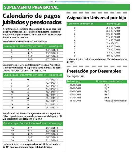 Cronograma de pago de anses diciembre 2015 new style for for Cronograma de pagos ministerio del interior