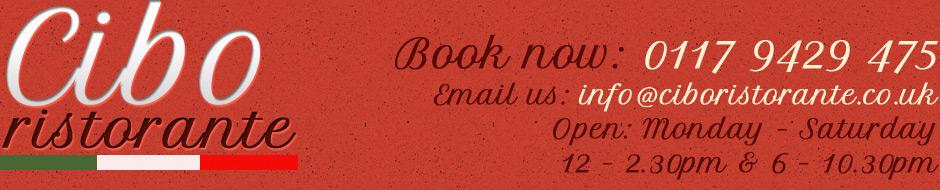 Cibo Ristorante Bristol Uk/Special Offers / Deals | Cibo