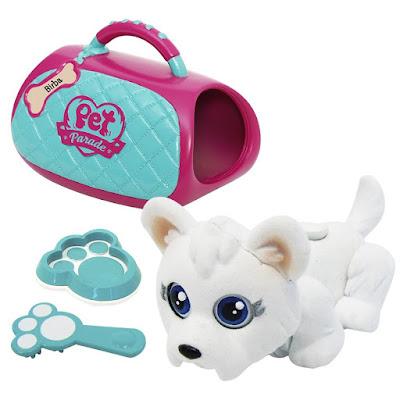 TOYS : JUGUETES - PET PARADE  Deluxe Bag Set | Cesta con cachorro excluviso | Carry Kit  Producto Oficial 2015 | Giochi Preziosi | A partir de 3 años  Comprar en Amazon España