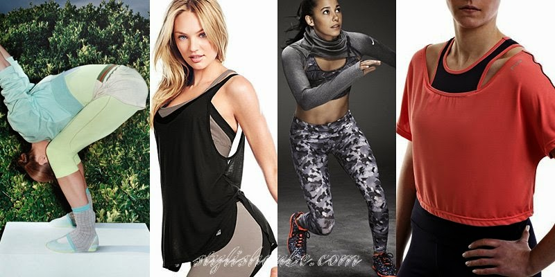 Spring Summer 2014 Women's Sportswear Fashion Trends