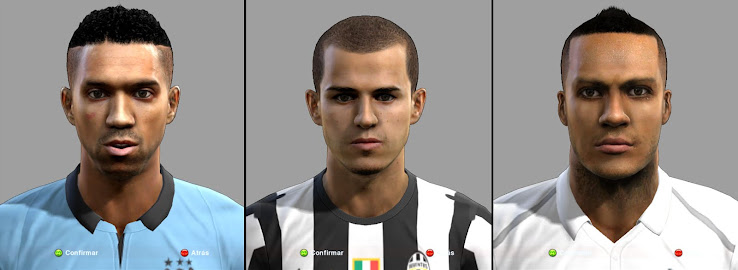 PES 2013 Facepack by nico azul