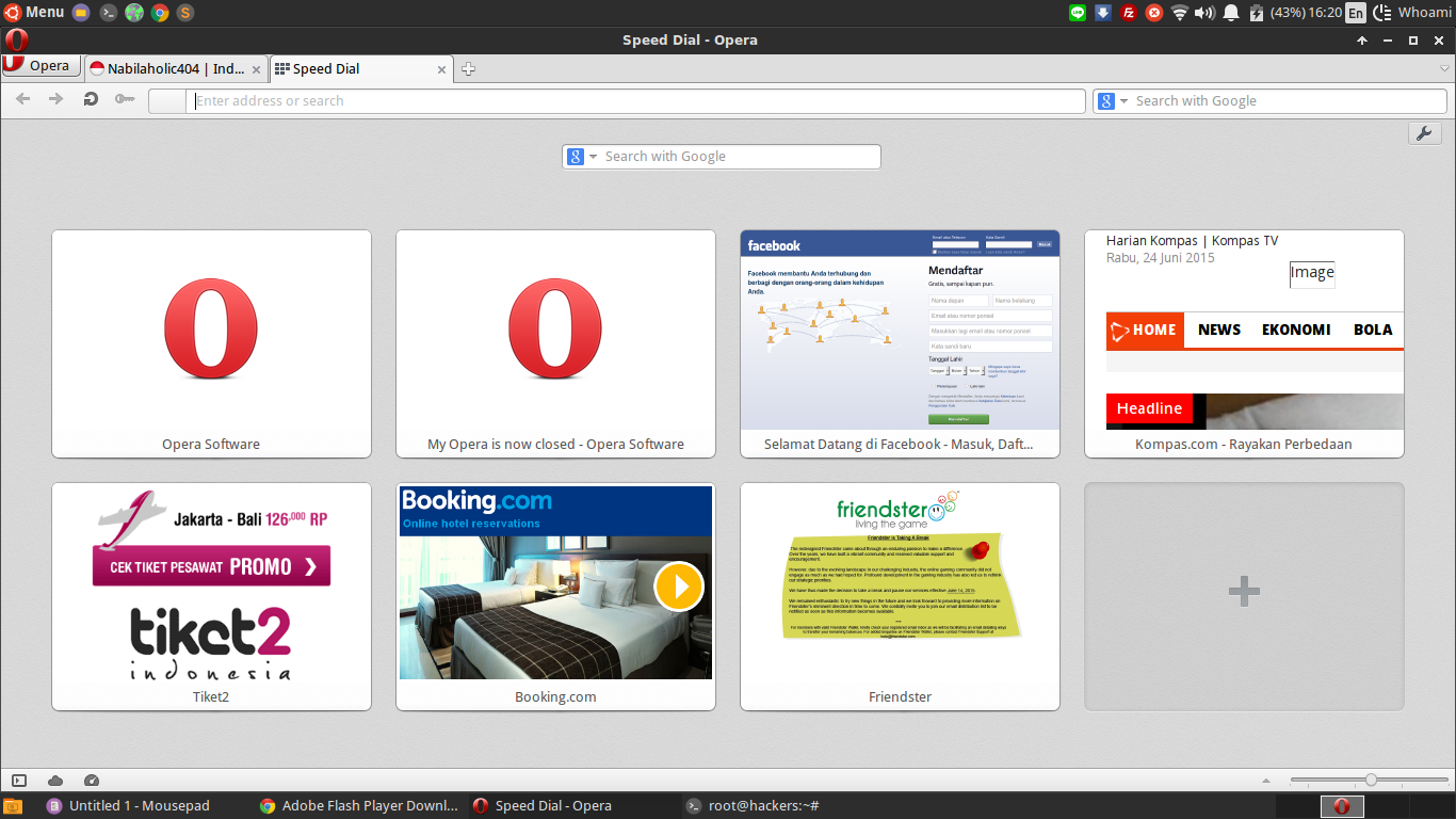 Install opera browser di ubuntu linux kloningan Linux browser