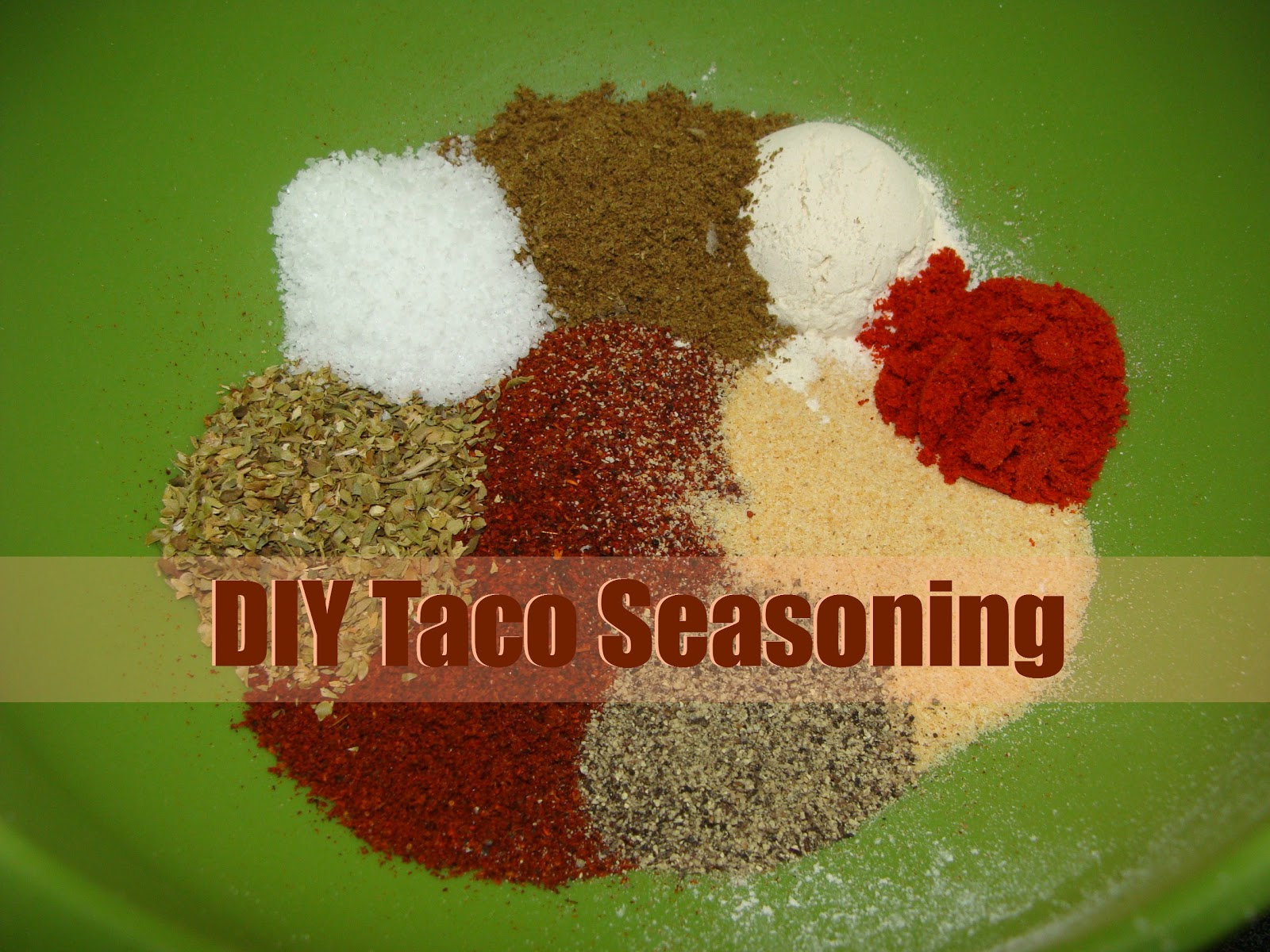 Homemade Mild Taco Seasoning - Juggling Act Mama