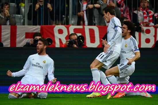 Sergio Ramos Spanish player of Real Madrid