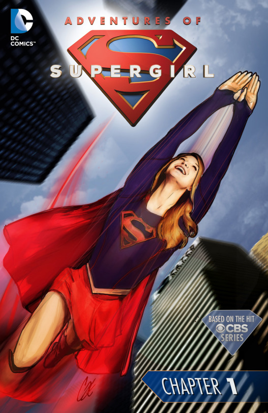ADVENTURES OF SUPERGIRL Chapter 1 Written By Sterling Gates Art Bengal Cover Cat Staggs Published DC Comics Release Date Monday January 25