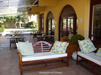Jodies Pan Pizza Marina Riverside: ambiente externo