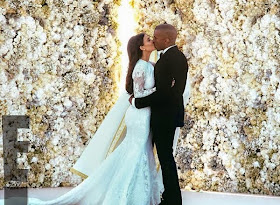 KANYE-KIM WEDDING PHOTOS RELEASED: