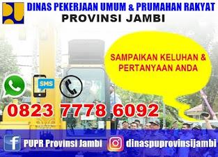 Dinas PUPR Provinsi Jambi