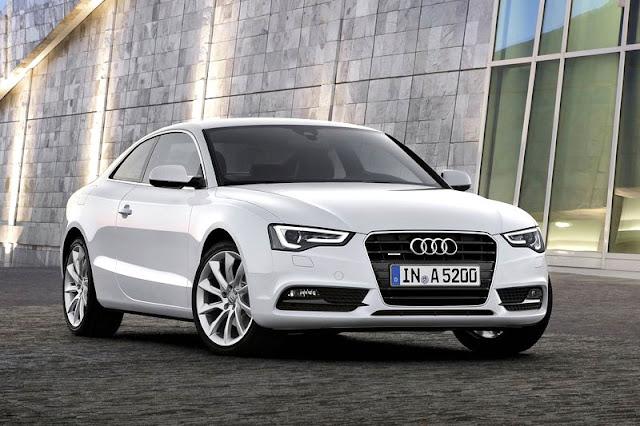 2012 Audi A5 Coupe White Wallpaper