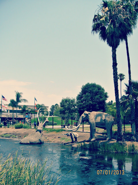 La Brea Tar Pits- Mastodons