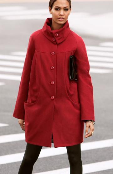 abrigos otoño invierno 2011 2012 mujer H&M
