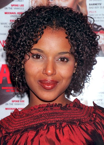 Kerry Washington L'actrice Afro-Americaine - Afro Coiffure ...