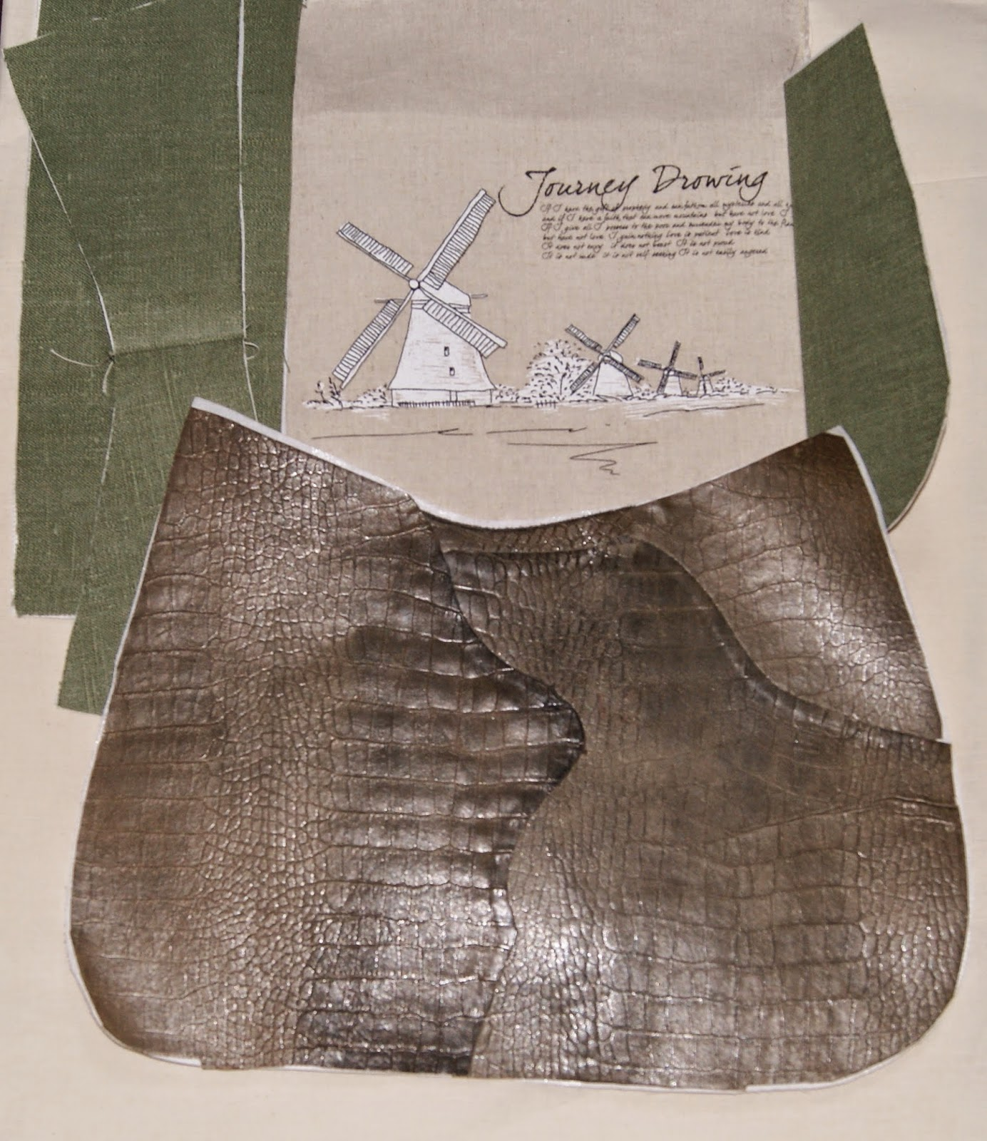 Сумка,кожа, лен, шью себе сама, сумка из кожи, сумка своими руками, пошить сумку, сумка из текстиля, сумка ручной работы, кожа, лен, лен с рисунком, сумка для себя, любимая сумочка. сумочка, женская сумка, кожа крокодила