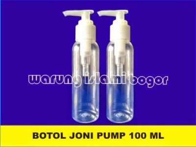 Jual Botol 100ml Pump Spray