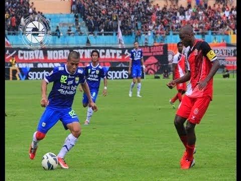 Persib Menang Telak 5-0 atas Persijap Selasa 19 Agustus 2014.