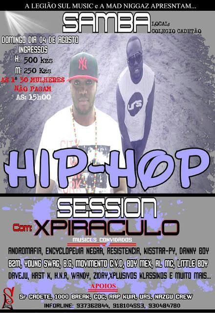 Promo da SAMBA HIP-HOP SESSION 2ª Edição Com XPIRACULO (Mad Niggas)