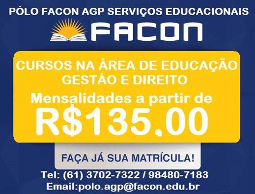 PÓLO FACON AGP SERVIÇOS EDUCACIONAIS