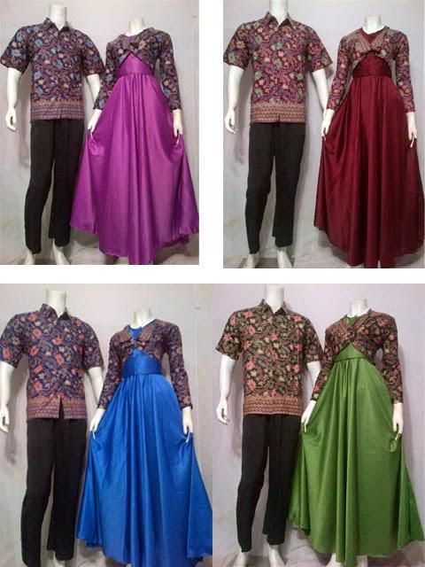 Model Baju Gamis Batik Modern Gentong Seri Batik Bagoes Solo