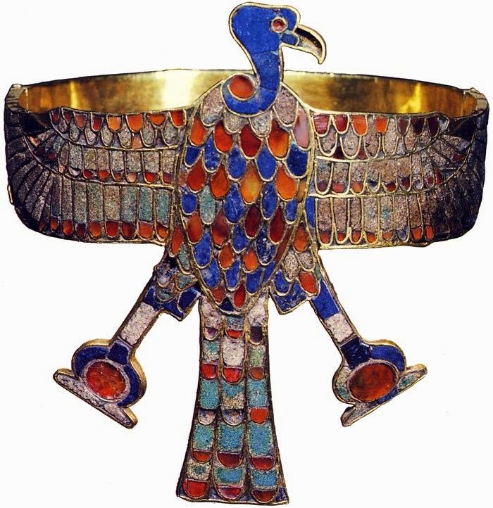 Brazalete de la Reina Ahhotep esposa de Sequenenre.
