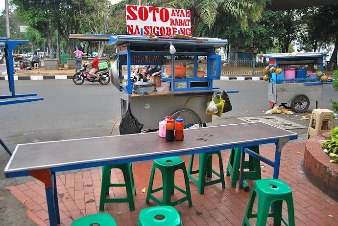 Puesto de comida callejero