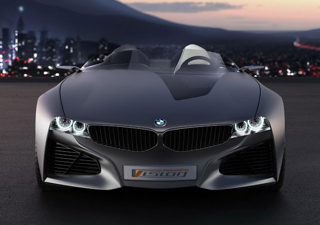 BMW VisionConnectedDrive Front View