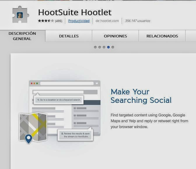 Hootsuite Hootlet  Extension Google Chrome