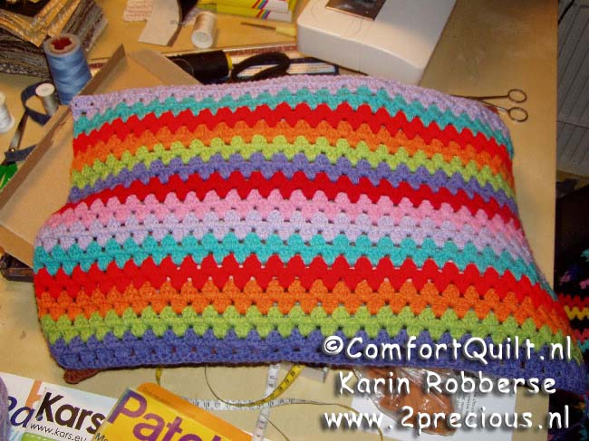Granny Stipes Haken Tutorial Creatiefsnl