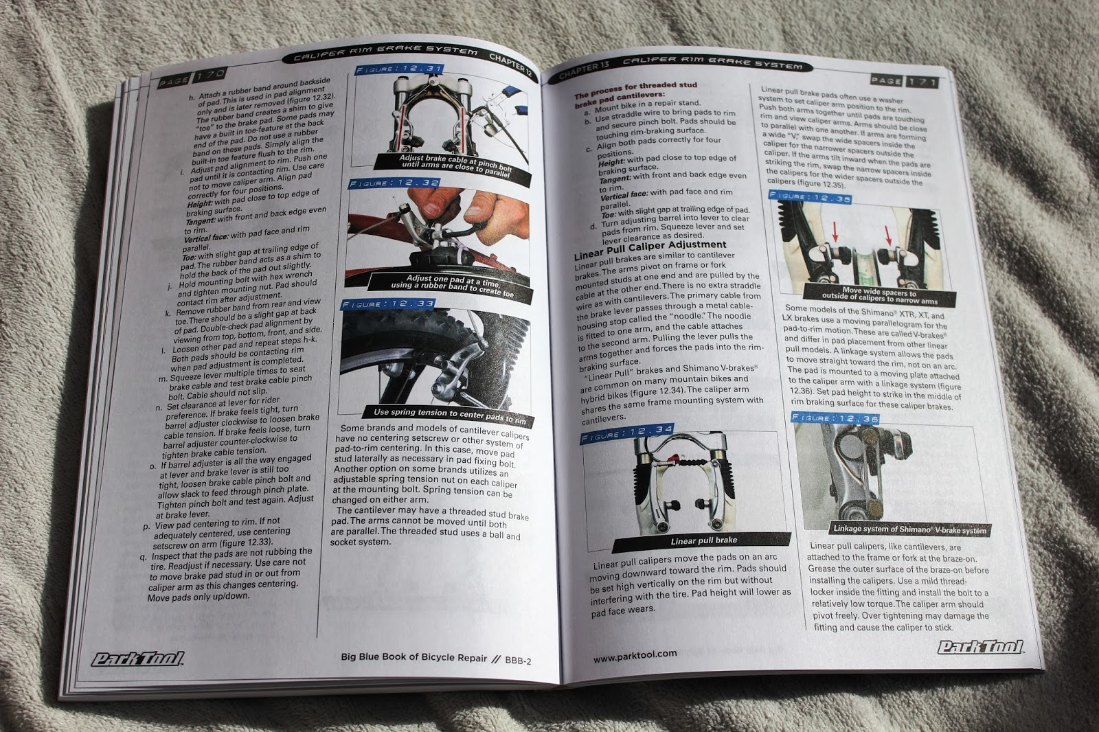 """Cycling Dynamics: Book Review: Park Tool """"Big Blue Book Of Bicycle ..."""