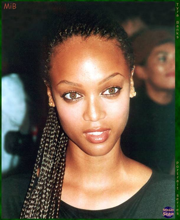 Tyra Banks Updo: Tyra Banks Hairstyle Trends: Tyra Banks Hairstyle Pictures